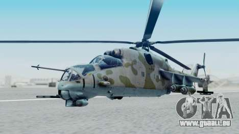 Mi-24V Ukraine Air Force 010 für GTA San Andreas