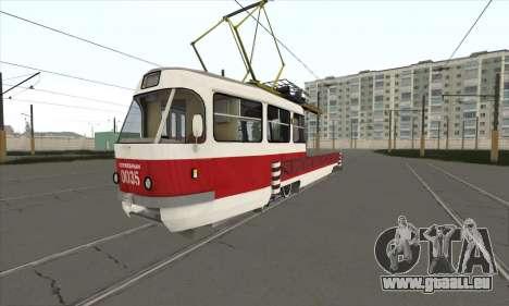Tatra T3 de service pour GTA San Andreas