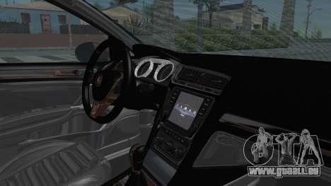 Volkswagen Golf 7 Stance für GTA San Andreas Innenansicht