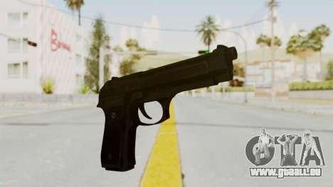 Beretta M9 für GTA San Andreas zweiten Screenshot