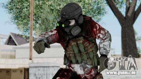 Black Mesa - Wounded HECU Marine v1 für GTA San Andreas