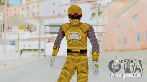 Power Rangers Ninja Storm - Yellow für GTA San Andreas