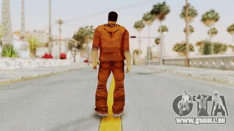 Claude Speed (Prision) from GTA 3 pour GTA San Andreas troisième écran