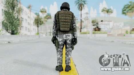 Black Mesa - HECU Marine v1 für GTA San Andreas dritten Screenshot