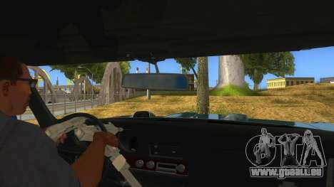 1969 Pontiac GTO Monster Truck pour GTA San Andreas vue intérieure