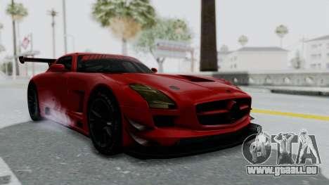 Mercedes-Benz SLS AMG GT3 PJ6 pour GTA San Andreas vue de droite