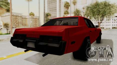 Dodge Monaco 1974 Drag für GTA San Andreas linke Ansicht