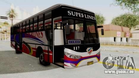 Superlines Ordinary Bus für GTA San Andreas