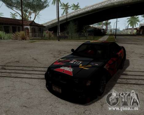 Nissan R33 GT-R Tunable pour GTA San Andreas moteur