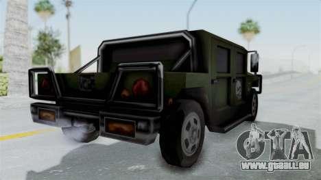 Patriot from Manhunt 2 pour GTA San Andreas vue de droite