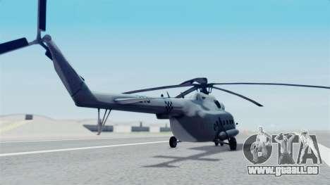 Mi-8 Croatian pour GTA San Andreas laissé vue