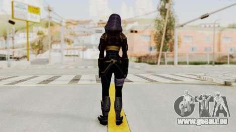 Mass Effect 3 Tali Armor pour GTA San Andreas troisième écran