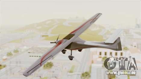 Ultralight Allegro 2000 für GTA San Andreas rechten Ansicht
