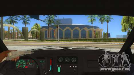 Ford Sierra Sapphire Cosworth pour GTA San Andreas vue intérieure