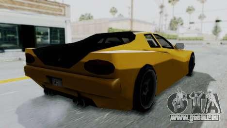 Cheetah ZTR v1 für GTA San Andreas linke Ansicht
