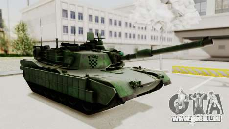 M1A2 Abrams Woodland Croatian pour GTA San Andreas