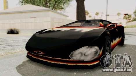 GTA 3 Diablos Infernus für GTA San Andreas