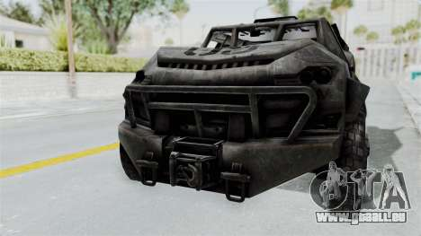 PITBULL from CoD Advanced Warfare pour GTA San Andreas laissé vue