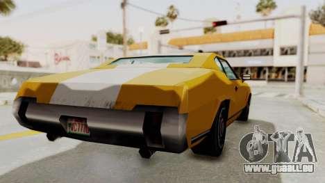 GTA VCS - Cholo Sabre pour GTA San Andreas sur la vue arrière gauche