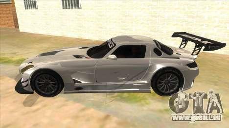 Mercedes Benz SLS AMG GT3 pour GTA San Andreas laissé vue