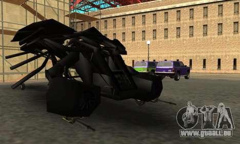 The Dark Knight Rises BAT v1 pour GTA San Andreas