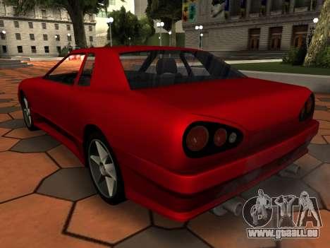 Elegy PFR v1.0 pour GTA San Andreas roue