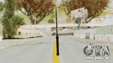 Skyrim Iron Tanto pour GTA San Andreas troisième écran