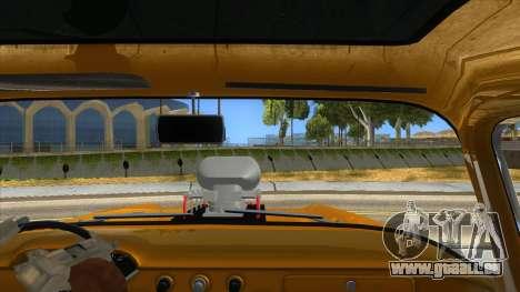 1958 Chevrolet Apache Monster Truck pour GTA San Andreas vue intérieure