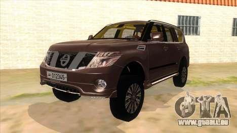Nissan Patrol 2016 für GTA San Andreas