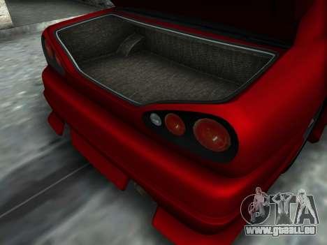 Elegy PFR v1.0 pour GTA San Andreas sur la vue arrière gauche