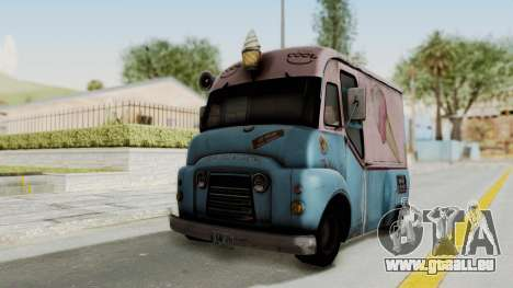 Hitman Absolution - Ice Cream Van für GTA San Andreas