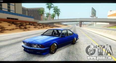 BMW M635 CSi (E24) für GTA San Andreas Seitenansicht