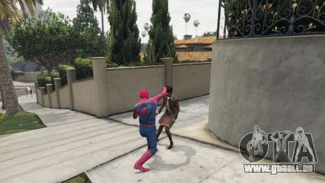 GTA 5 Spider-man dritten Screenshot