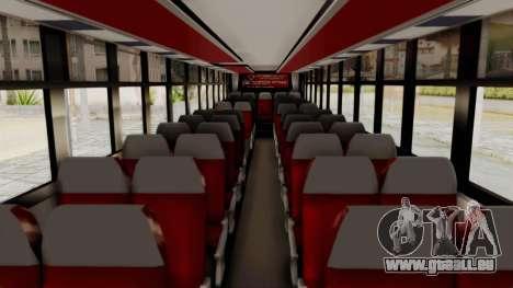 Superlines Ordinary Bus pour GTA San Andreas vue intérieure