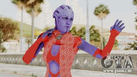 Mass Effect 3 Aria TLoak Dress für GTA San Andreas