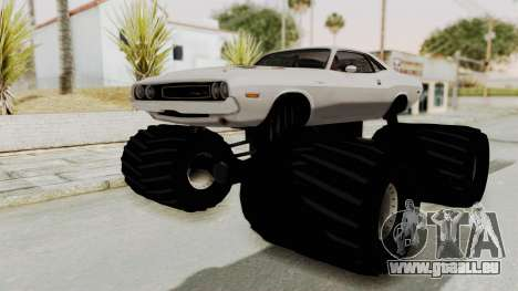 Dodge Challenger 1970 Monster Truck pour GTA San Andreas