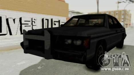 Cruiser from Manhunt 2 pour GTA San Andreas sur la vue arrière gauche