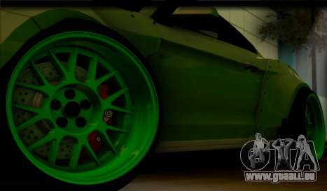 Ford Mustang RTRX Coupe für GTA San Andreas Rückansicht