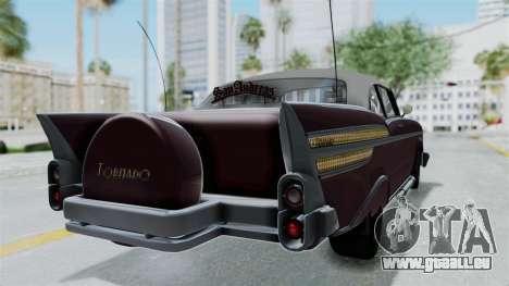 GTA 5 Declasse Tornado Bobbles and Plaques pour GTA San Andreas laissé vue