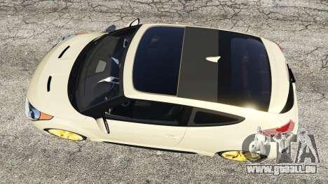 GTA 5 Hyundai Veloster Turbo vue arrière