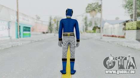 Power Rangers Megaforce - Blue für GTA San Andreas dritten Screenshot