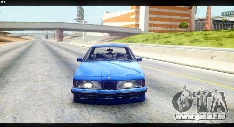 BMW M635 CSi (E24) für GTA San Andreas rechten Ansicht