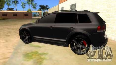 Volkswagen Touareg HQ für GTA San Andreas linke Ansicht