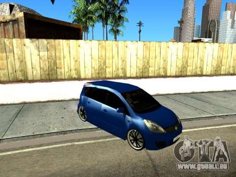 Nissan Note KURMIN StreetRacer pour GTA San Andreas laissé vue
