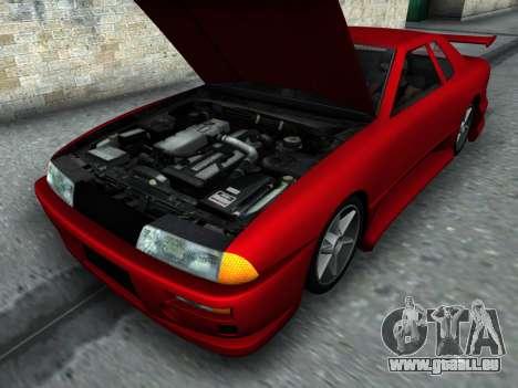 Elegy PFR v1.0 pour GTA San Andreas vue de côté