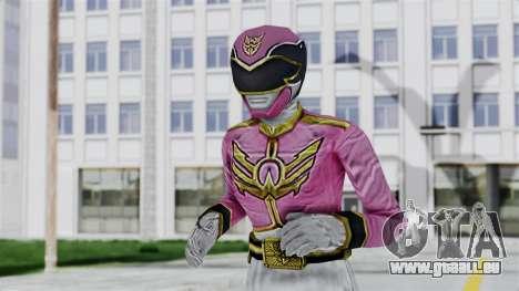Power Rangers Samurai - Pink für GTA San Andreas