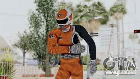 Power Rangers S.P.D - Orange für GTA San Andreas