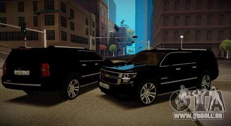 2015 Chevrolet Suburban Staatsanwaltschaft für GTA San Andreas