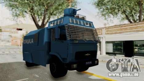 FAP Water Cannon pour GTA San Andreas