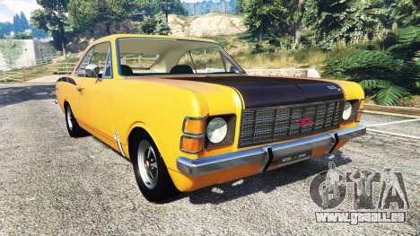 Chevrolet Opala SS4 1975 pour GTA 5